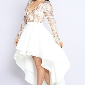 Hi/ Low Special Occasion Dress